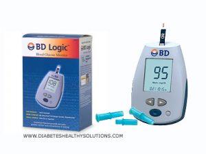 BD glucose test meter