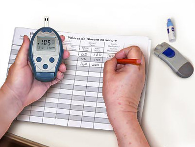 diabetic blood sugar machine