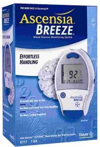 Ascenia Glucose Monitor