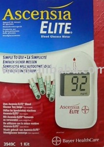 Ascensia Elite Glucose Meter