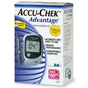 accucheck glucose meters