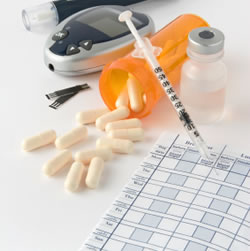 list of diabetic medications