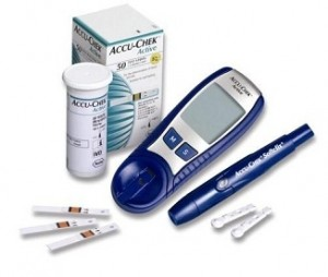 blood sugar testing equipment