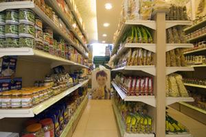 Diabetic food stores