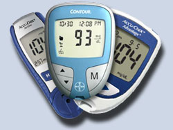 diabetic testing meters